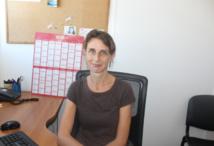 Le Dr Marine Giard, chef du bureau de veille sanitaire à la Direction de la santé.