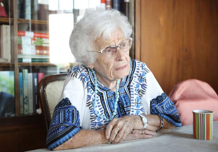 Climat: une centenaire allemande se lance en politique