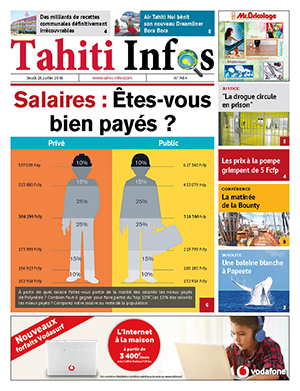 TAHITI INFOS N° 1454 du 25 juillet 2019