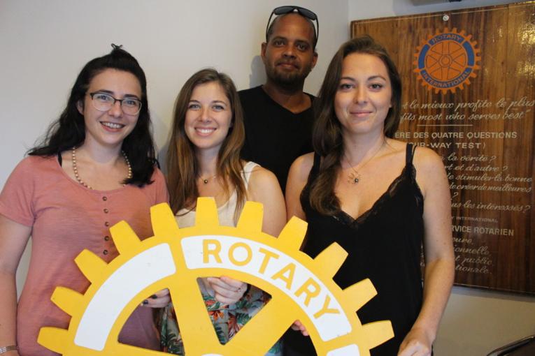 Le Rotaract club de Tahiti repart