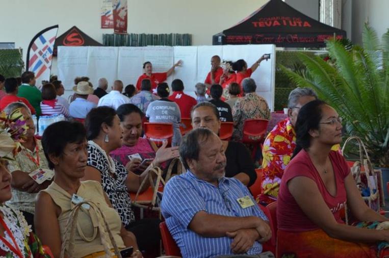 En 2018 le congrès des communes s'était tenu à Teva i Uta. Les tāvana avaient alors abordé le statut de l'élu et la crise de vocation.