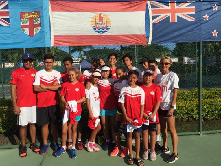 Une quinzaine de jeunes sont actuellement à Fidji pour les Océania junior