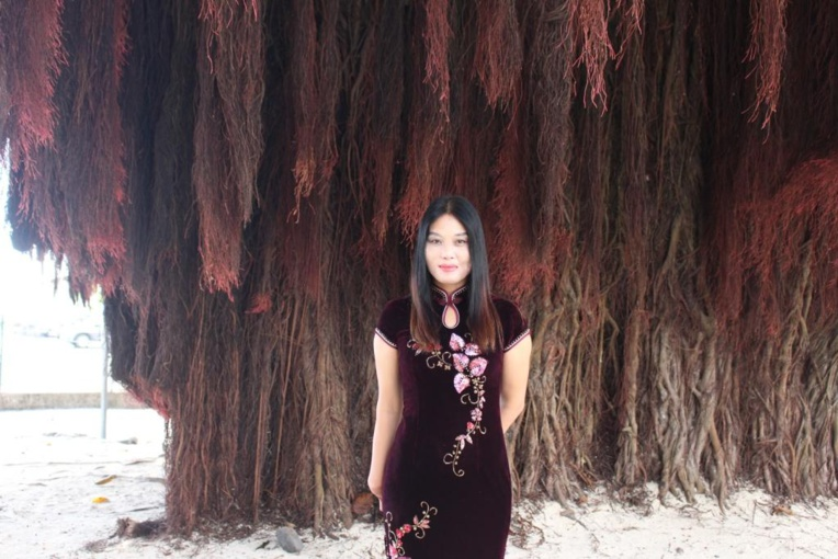 La Polynésie vue par la peintre chinoise Fu Xiaolan