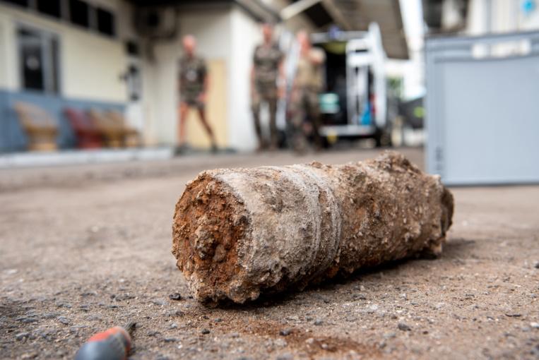 L'obus retrouvé date de la première guerre mondiale.