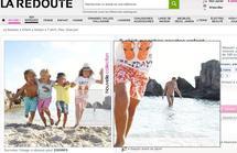 Capture d'écran du site Internet de La Redoute le 04/01/2012