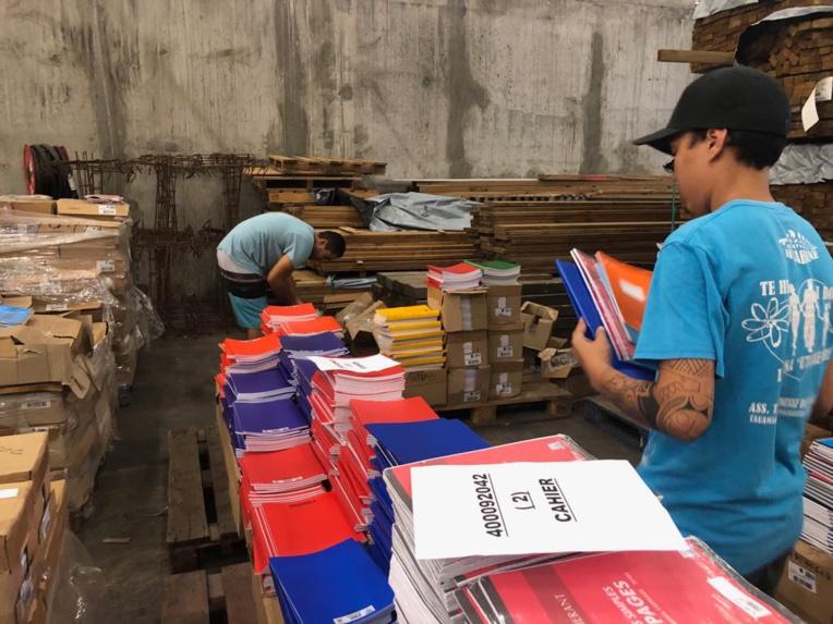 Des kits de fournitures scolaires à 4300 Fcfp l'unité pour le second degré