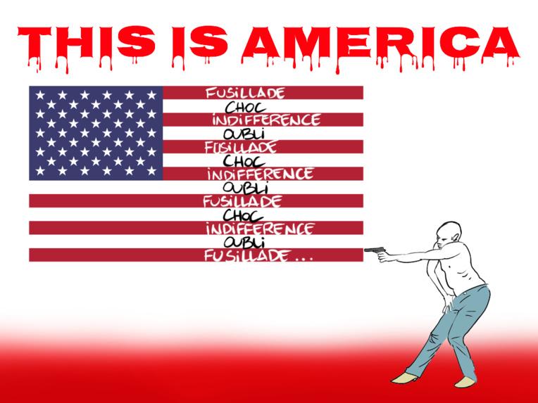 """""""This is America"""", par Munoz"""