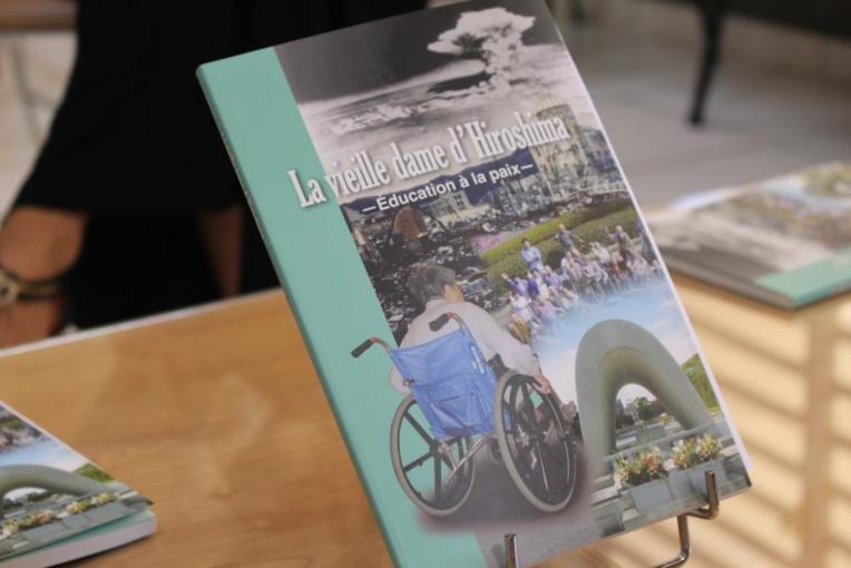 """L'ouvrage """"La Vieille dame d'Hiroshima"""" disponible au prêt"""