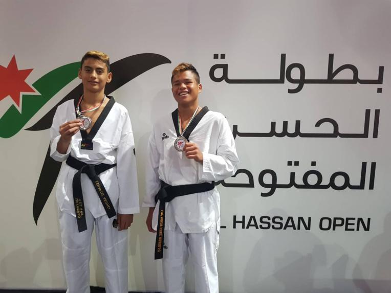 De bons résultats en Jordanie pour nos jeunes cadets