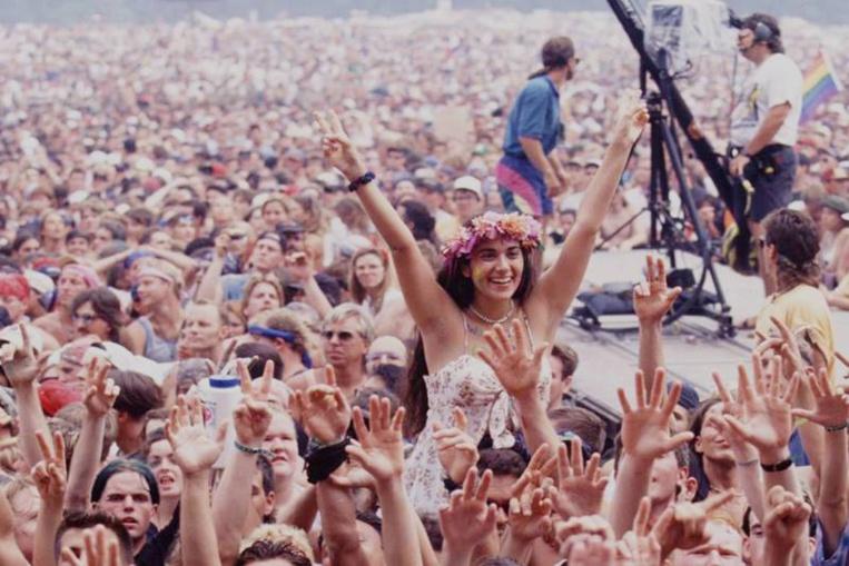 Un demi-million de personnes ont assisté au festival de Woodstock en 1969.