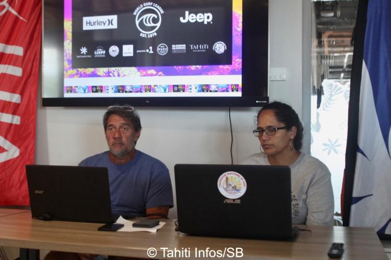 La conférence a été menée par PAscal Luciani et Sarah Liénard