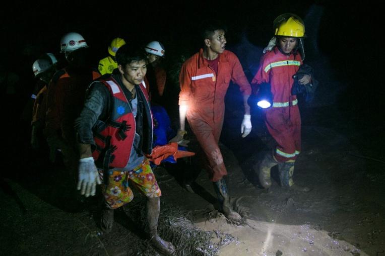 Birmanie : 13 morts et des dizaines de blessés dans un glissement de terrain