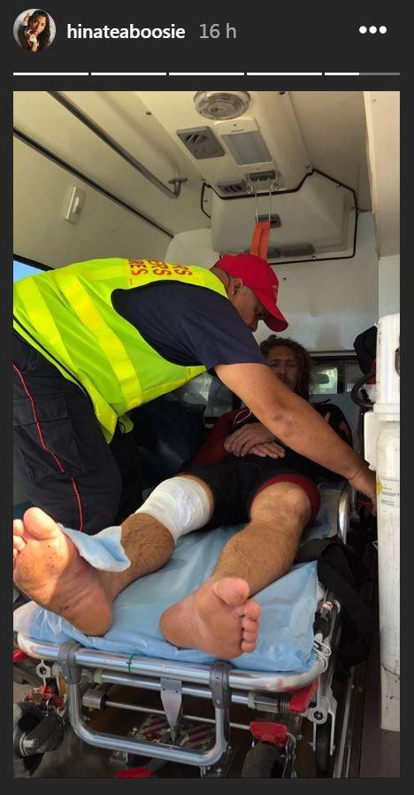 Tahurai Henry de nouveau blessé à Teahupo'o