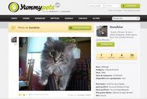 Yummypets, le premier réseau social français dédié aux animaux de compagnie