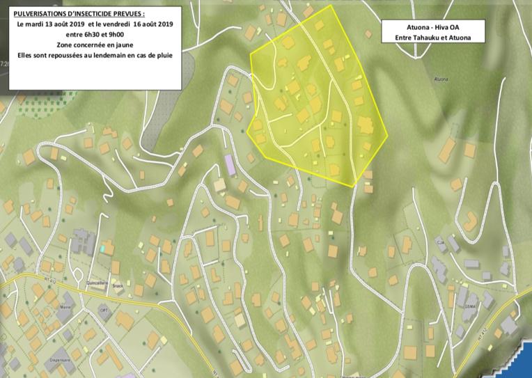 La lutte contre la dengue s'organise à Atuona