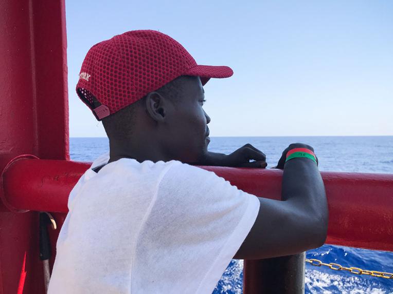 Ocean Viking, 356 migrants à bord, à la recherche d'un port