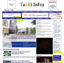 Vous êtes témoin d'un évènement? envoyez vos photos, vidéos ou votre article à Tahiti Infos!