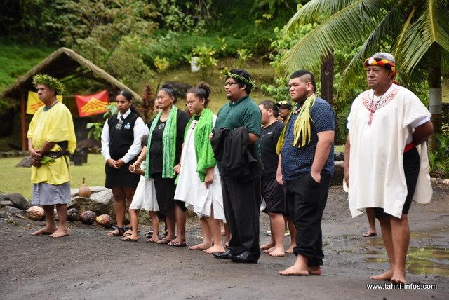 Des invités maori étaient également de la partie.