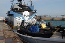 Jets de peinture et boules puantes sur les baleiniers japonais en campagne