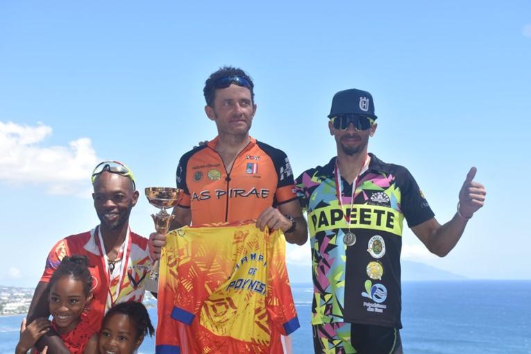 Teva Poulain champion de Polynésie