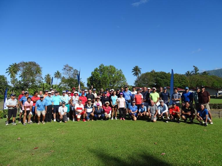 Une soixante de golfeur ont participé le week-end dernier à Atimaono au tournoi en équipe de l'open de Fei Pi.