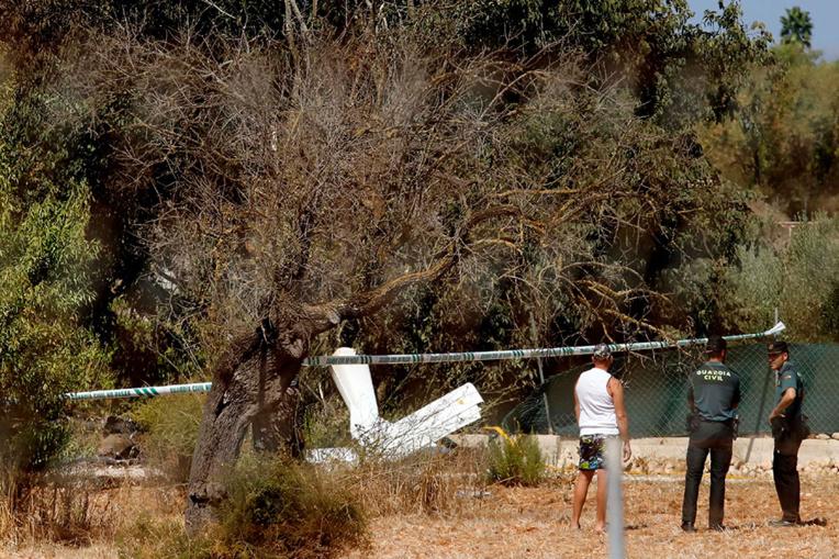 Majorque : sept morts dans la collision d'un hélicoptère avec un ULM