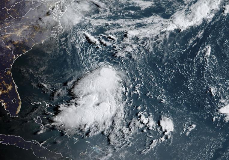 La tempête tropicale Dorian fait des dégâts en Martinique