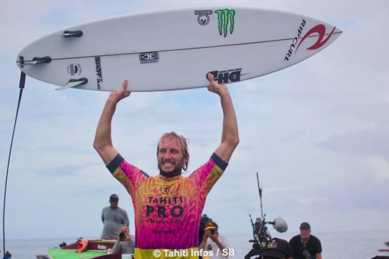 Une victoire méritée pour le surfeur australien qui a fait preuve de persévérance