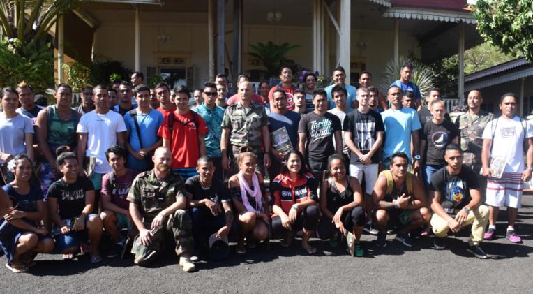 Cinquante jeunes Polynésiens ont signé vendredi leur lettre d'engagement pour l'armée de terre.
