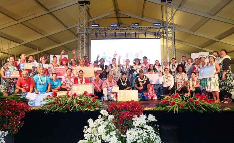 Les lauréats du concours.