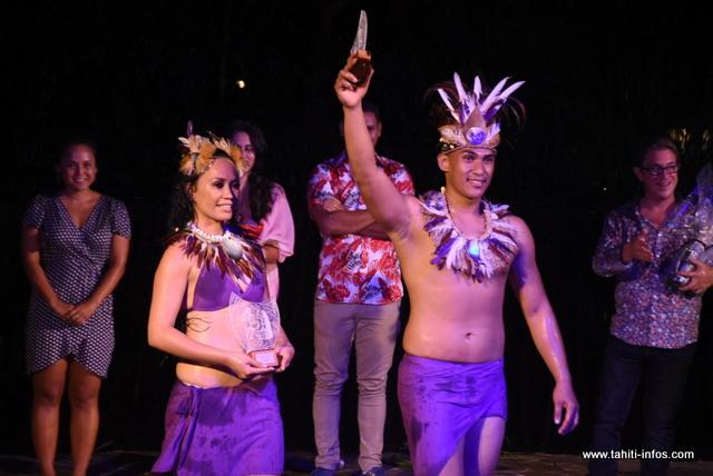 Teraiteitei Pambrun et Apetahi Maui élus meilleur couple du Te Hura Nui