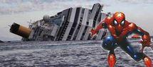 """Naufrage : """"Spiderman"""" a sauvé huit enfants à bord du Concordia"""