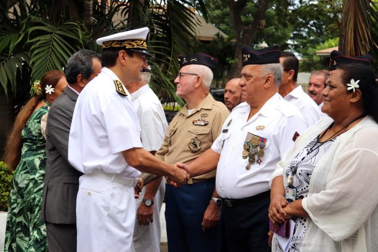 79e anniversaire du ralliement de la Polynésie française à la France libre