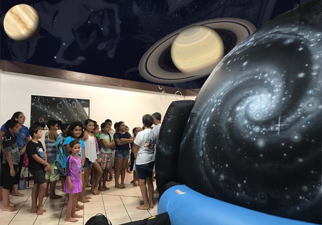 Le planétarium de Proscience reste ouvert jusqu'à mercredi