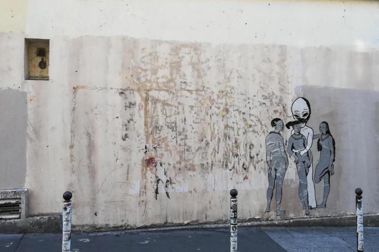 Vol d'un Banksy en plein Paris
