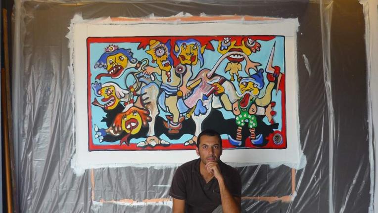 Thode dévoile certaines de ses toiles à la galerie des Tropiques