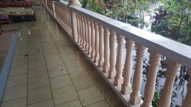 Cinq habitations inondées à Papara