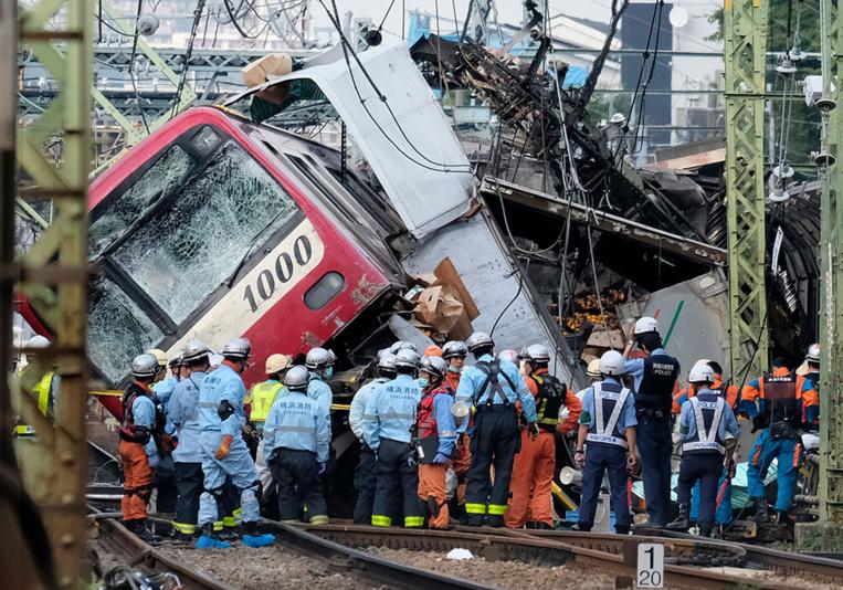 Japon: un mort, une trentaine de blessés dans une collision train/camion