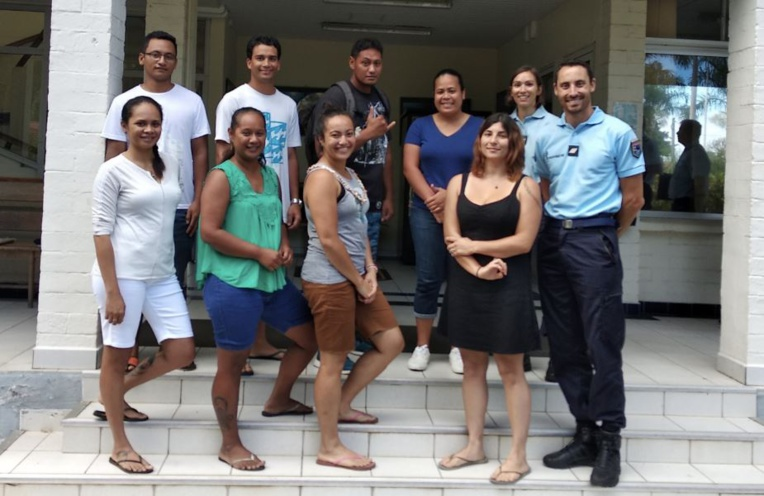 Sept Polynésiens s'engagent dans la gendarmerie