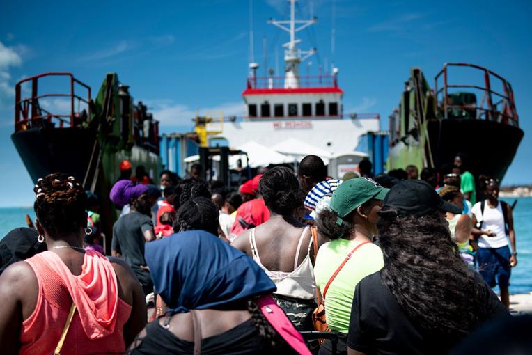 Aux Bahamas, le défi des personnes déplacées par l'ouragan
