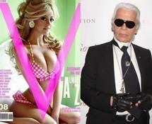 Zahia, ex-call girl, entre en mode parrainée par Karl Lagerfeld