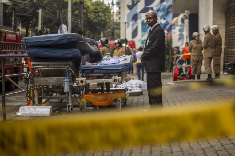 Nouvel incendie tragique à Rio: 10 morts dans un hôpital