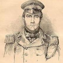 Un portrait d'Auguste Marceau, alors qu'il est encore jeune officier dans la marine française. Il sacrifia une brillante carrière à sa foi.