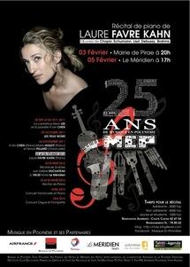 """""""Le piano et la danse"""" :  deux concerts avec Laure Favre Kahn pour Musique en Polynésie"""