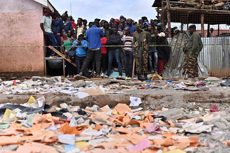 Kenya: sept écoliers tués dans l'effondrement de salles de classe à Nairobi
