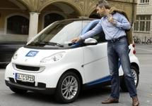 Lyon: 200 Smart en libre-service avec le système d'autopartage Car2go