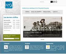 Lancement du nouveau site Internet de l'ISPF : www.ispf.pf