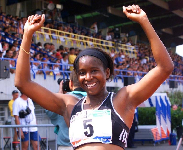 L'ex-sprinteuse guyanaise Katia Benth amputée d'une jambe