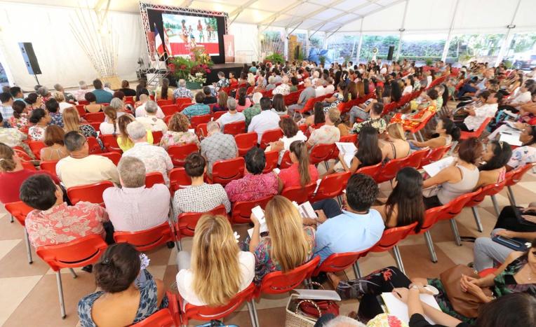 Les premières Assises du tourisme se sont tenues ce jeudi à la Présidence. Crédit Présidence de la Polynésie française.