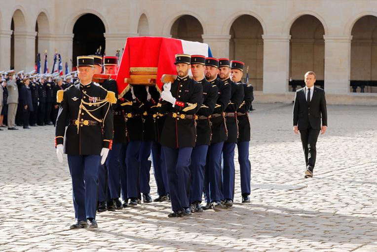La France adresse un ultime adieu à Jacques Chirac
